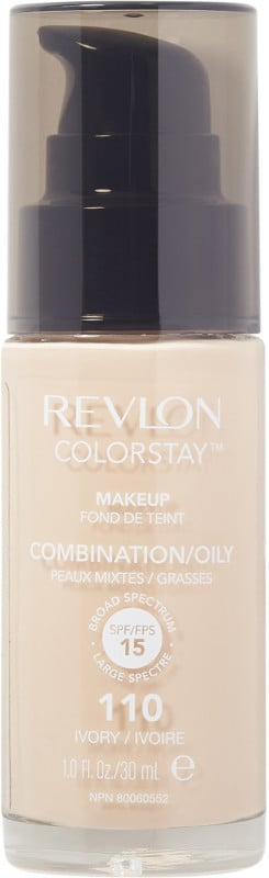 Revlon ColorStay Makeup For Combo/Oily Skin ($13) comes in 22 shades.