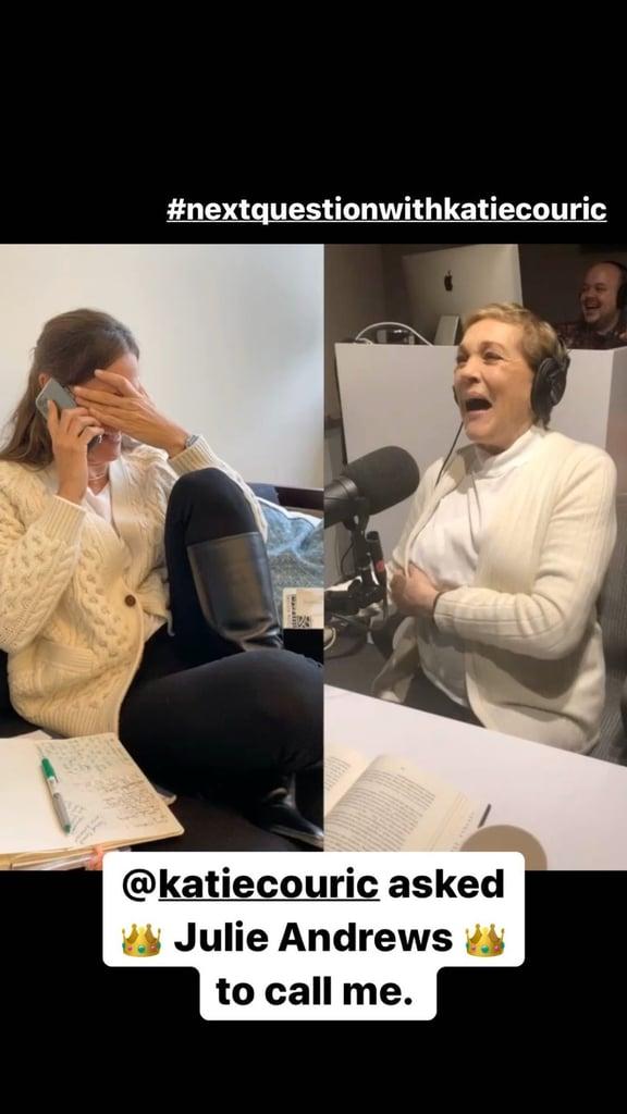 Jennifer Garner Reacts to Julie Andrews Call on Instagram