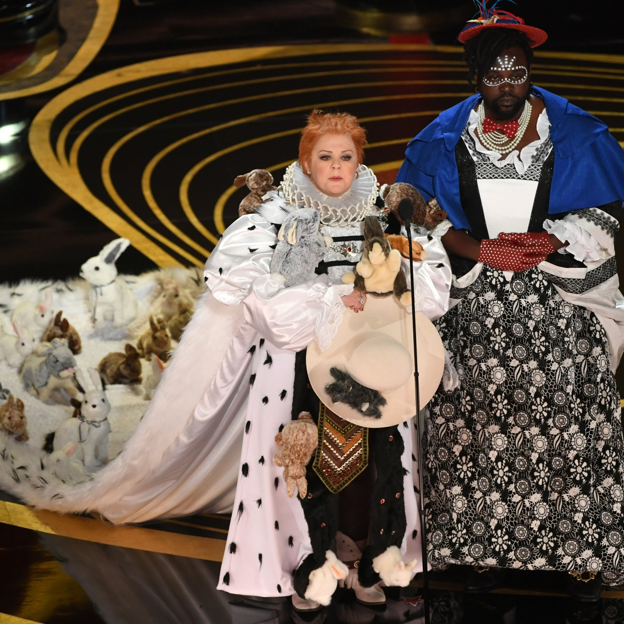 Melissa Mccarthy Brian Tyree Henry S Costumes At The Oscars Popsugar Celebrity Australia