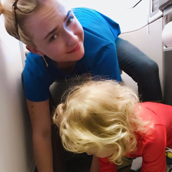 Hayden Panettiere's Daughter Pees on Airplane Bathroom Floor