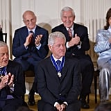 The honorees applauded one another as people received their medals.