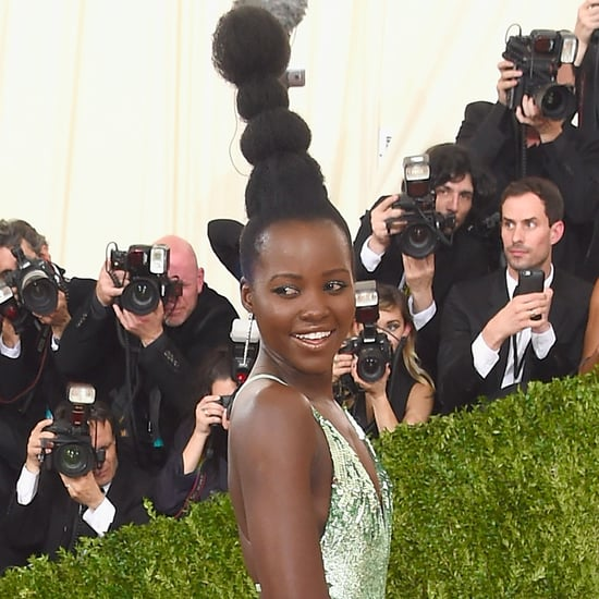 Lupita Nyong'o's Hair at Met Gala 2016