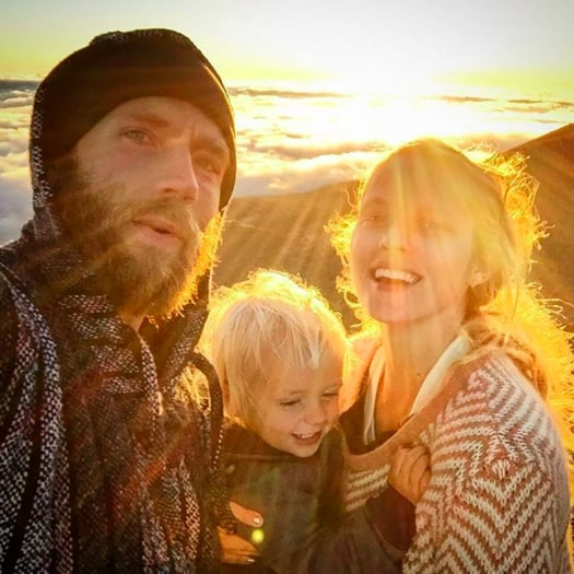 Teresa Palmer Cute Family Pictures