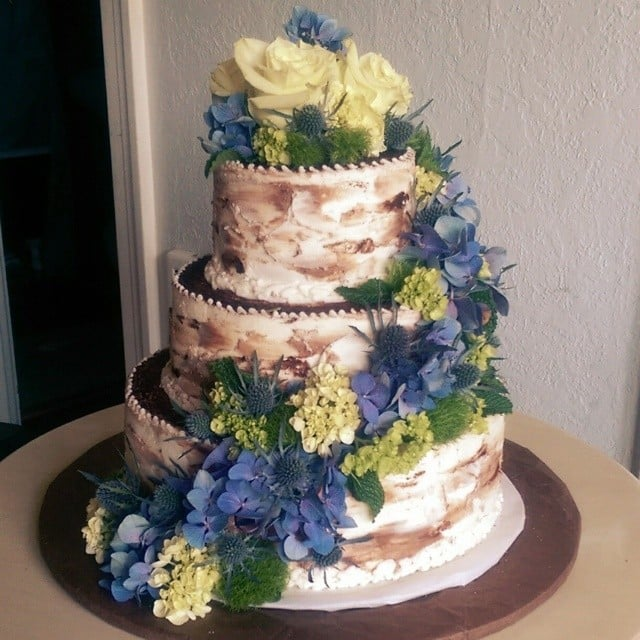 Rustic Wedding Cake Ideas: Summer Wedding Cake Ideas