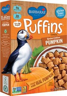Barbara's Puffins Pumpkin