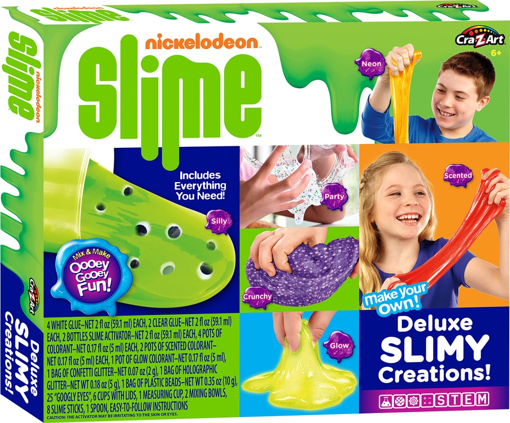 Nickelodeon Slime Deluxe Slimy Creations ($20)