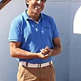 Oscar Nunez guest-stars as Doug the cruise director.