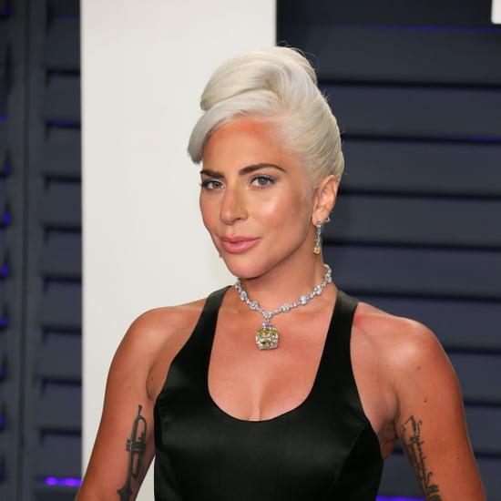Lady Gaga Mascara Oscars 2019