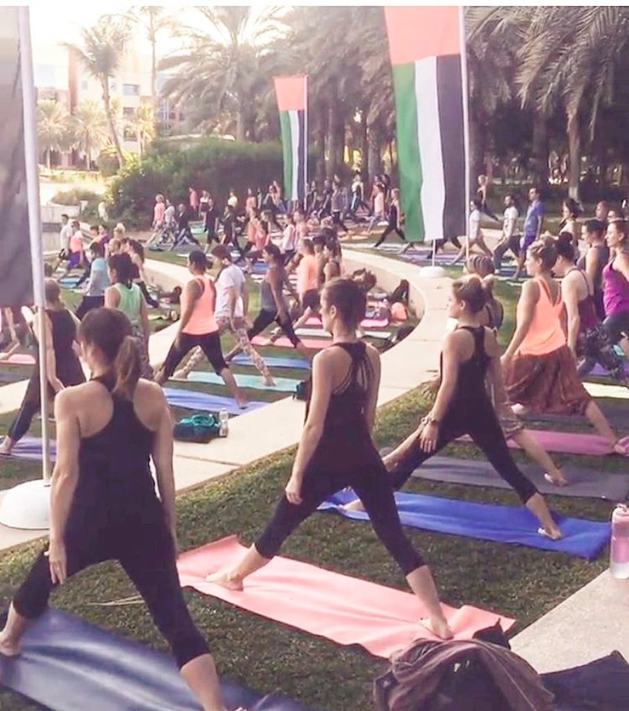 Photos from Dubai Yoga Fest 2016