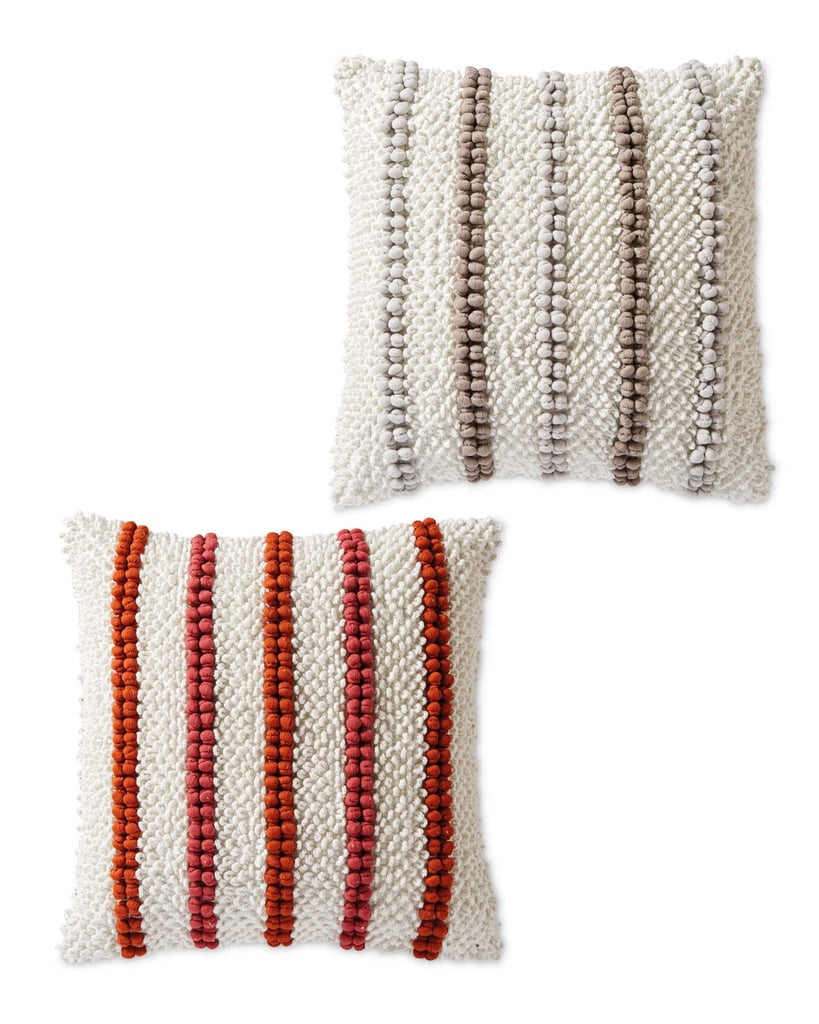 Aldi Bobble Detail Woven Cushion