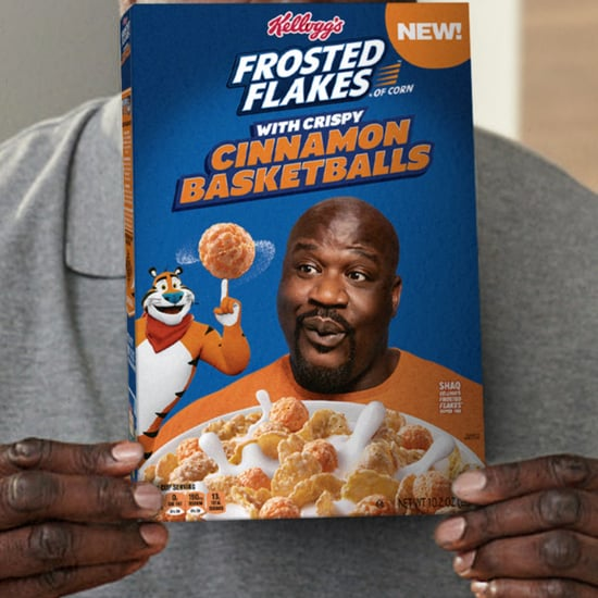 Shaquille O'Neal Frosted Flakes With Cinnamon Basketballs