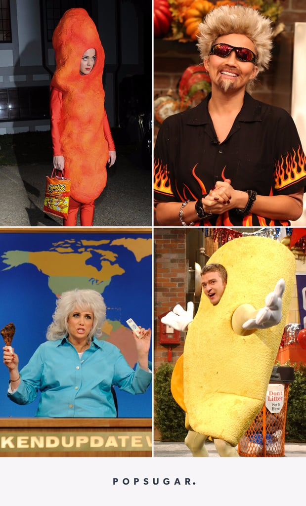 Celebrities Dressed Up as Foods and Chefs