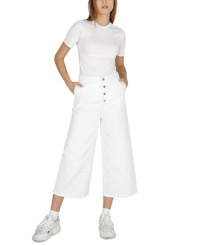 Dauntless Regina Denim Culottes & Reviews - Jeans - Women - Macy's