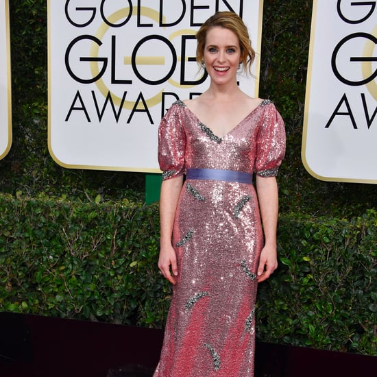 Claire Foy's Dress at Golden Globes 2017