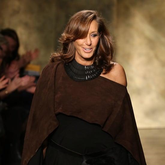 donna karan fashion week seating chart popsugar fashion. Black Bedroom Furniture Sets. Home Design Ideas