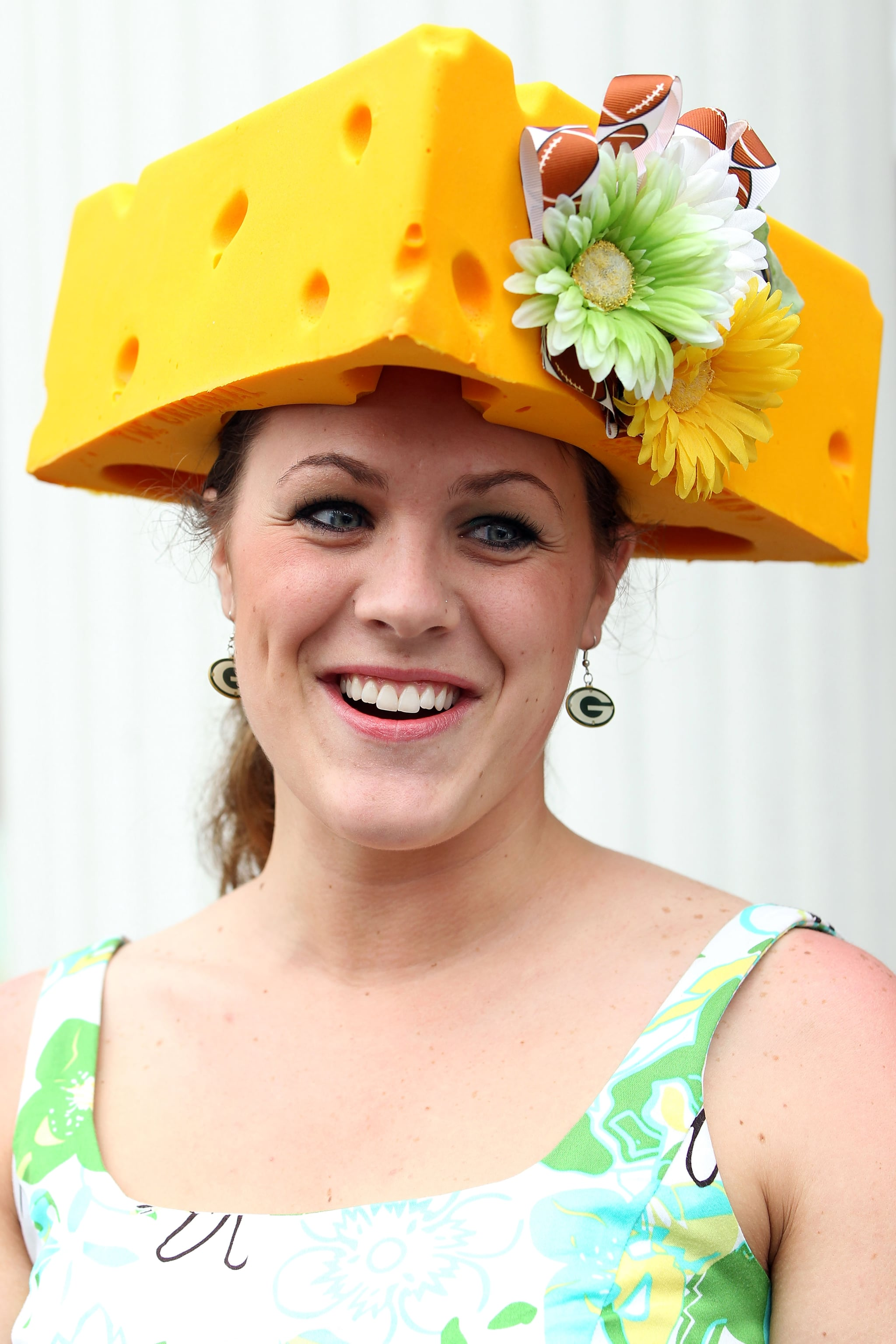 In 2011, this woman took the Kentucky Derby as a chance to show her love of cheese.