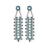Dannijo Violeta Crystal Drop Earrings ($276, originally $395)