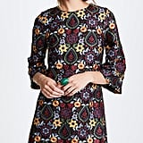 Alice + Olivia Coley Bell Sleeve Dress