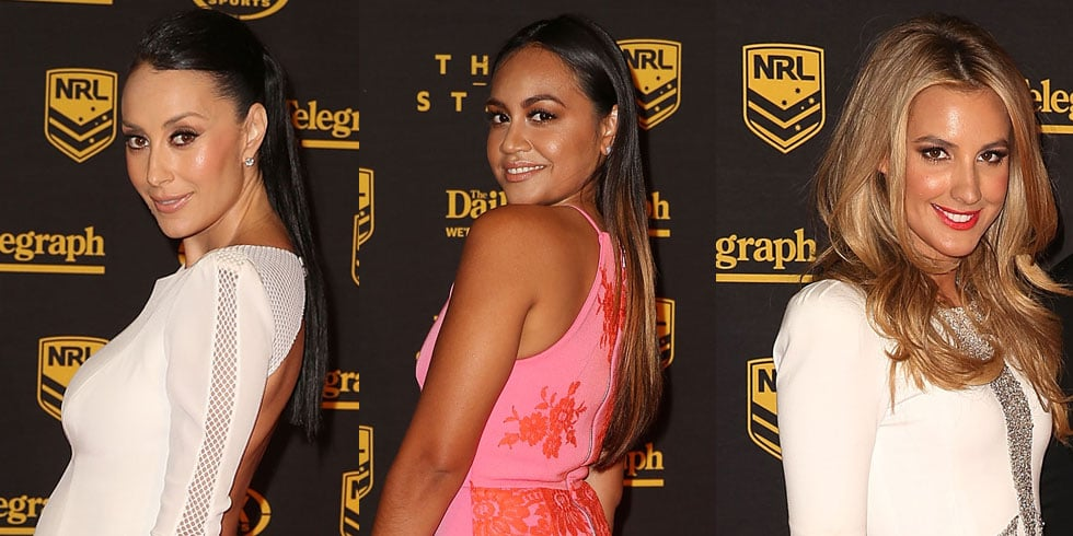 Pictures of Laura Dundovic & Terry Biviano at Dally M Awards