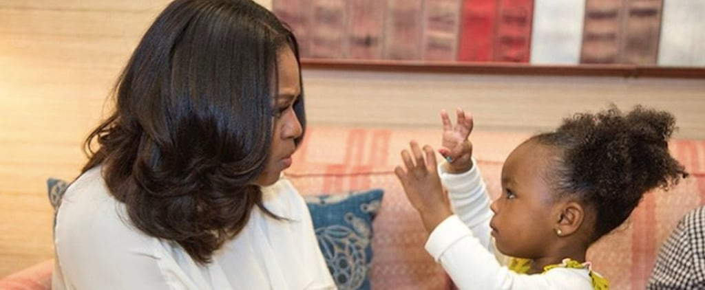 Michelle Obama's Blouse Is For a Boss Lady With a Hell of a Lot of Personality