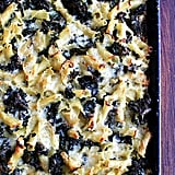 Sheet Pan Pasta Gratin With Kale