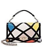 Roger Vivier 'Prismick' Mini Bauhaus Shoulder Bag ($2,795)