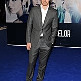Michael Fassbender attended The Counselor's London premiere.