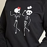 Skeletal Spectacle Graphic Sweatshirt