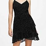 Leopard Velvet Mini Dress