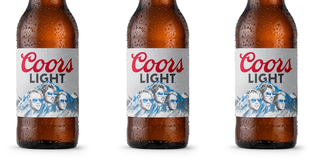 The Jonas Brothers Just Released Custom Coors Light Bottles