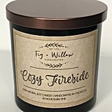 Cozy Fireside Scented Soy Candle