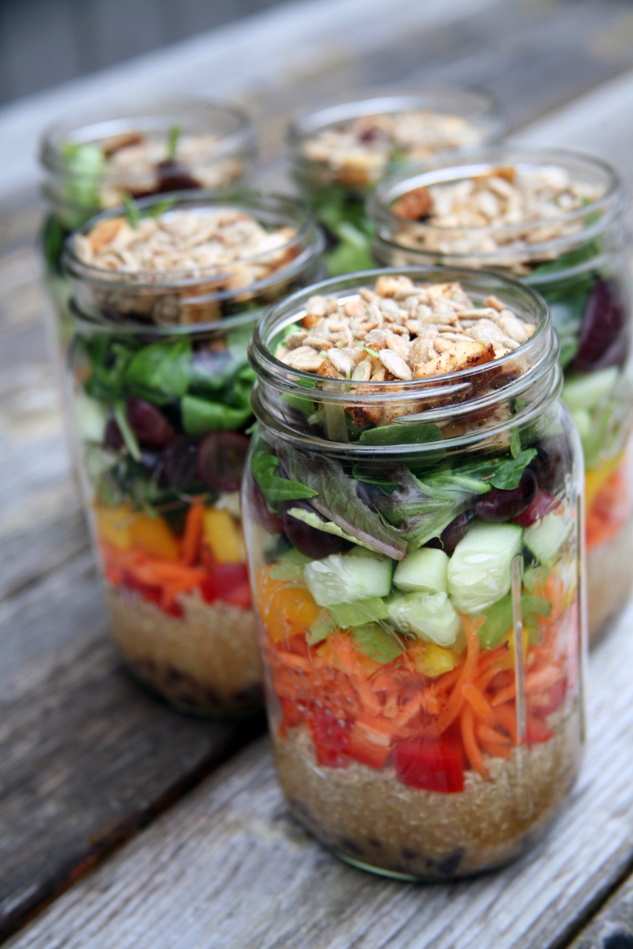 How to make a week of mason jar salads popsugar fitness australia forumfinder Gallery