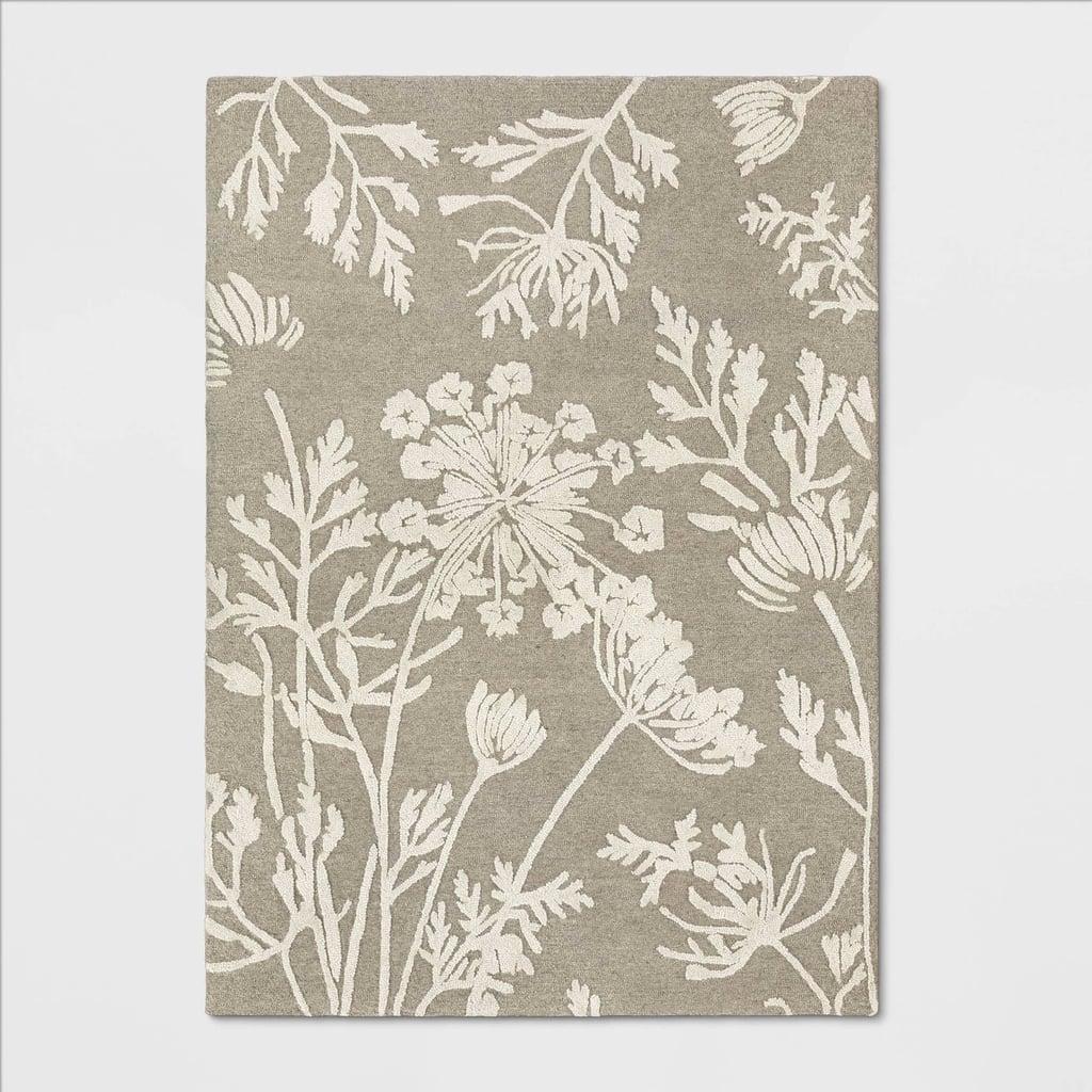 Fallsburg Floral Tufted Rug