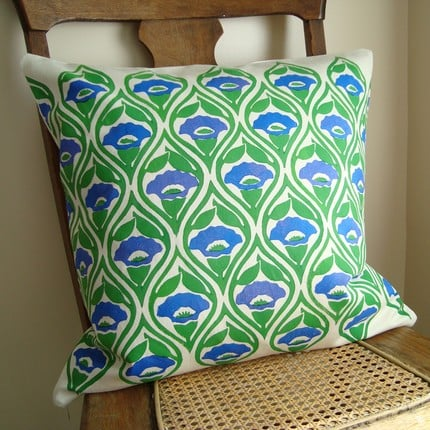 Casa Verde: Handprinted Fabric From Home Sweet