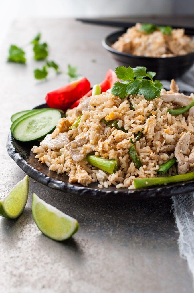 Thai Chicken Fried Rice | Chicken and Rice Recipes | POPSUGAR Food Photo 16