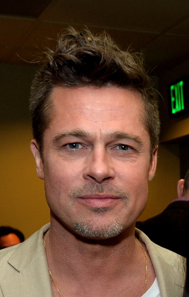 Brad Pitt Pops Up to Promote His Latest Passion Project