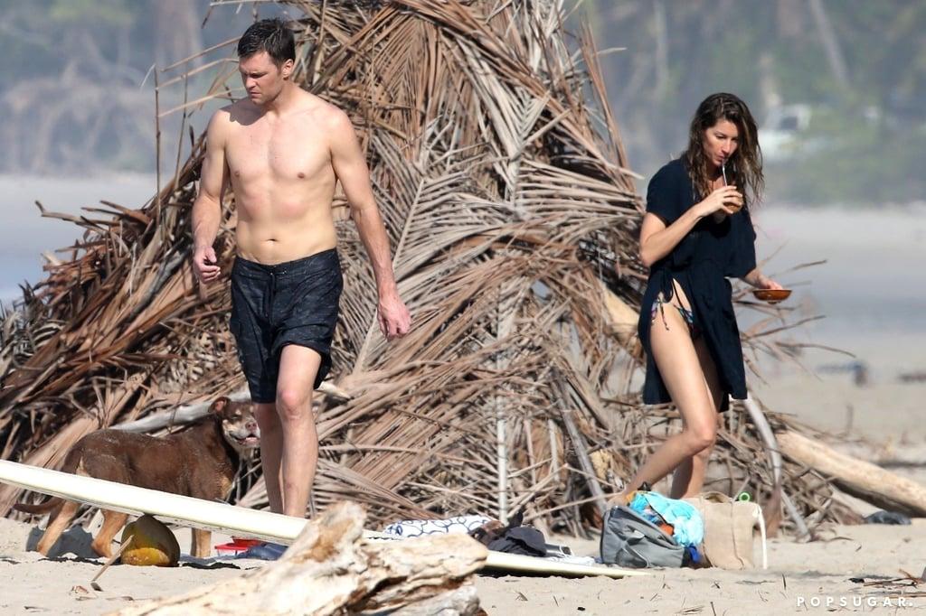 Tom Brady and Gisele Bündchen in Costa Rica February 2019