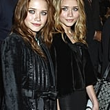 At The Last Samurai's premiere in 2003, Mary-Kate showed off a brunette mane, while Ashley went for blond.