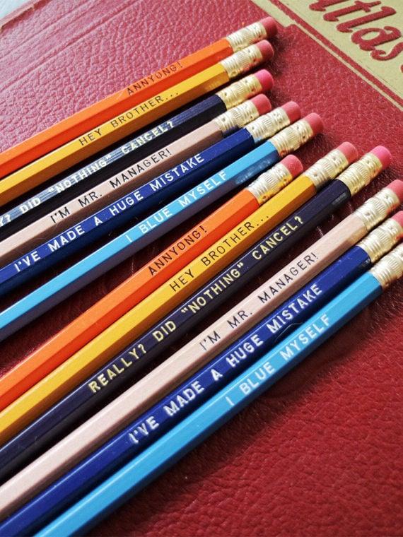 Arrested Development Pencil Set