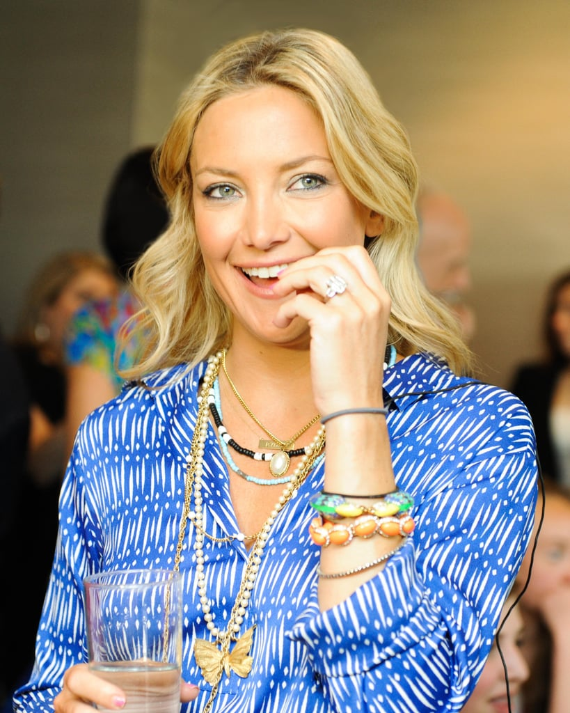 Kate Hudson smiled at the Vital Voices Leadership Forum on Tuesday in Washington DC.  Source: Carly Otness/BFAnyc.com