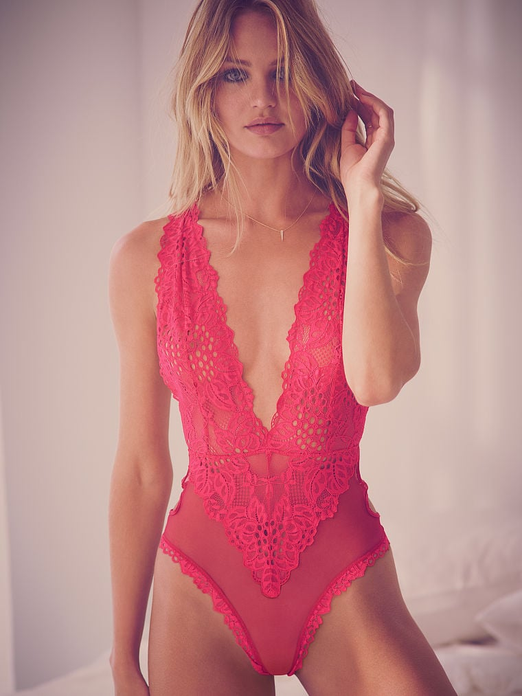 30b23eecbf5a0 Victoria's Secret Cutout Teddy | Sexy Lingerie | POPSUGAR Fashion ...