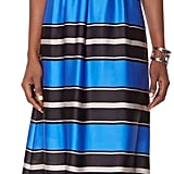The Limited striped blue maxi dress (£59)