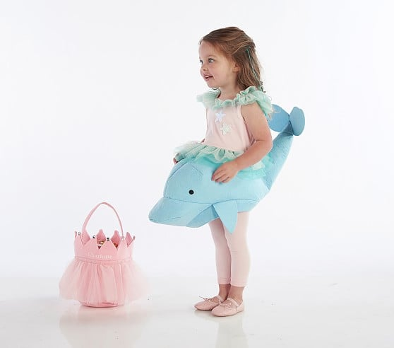 Toddler 3D Mermaid Dolphin Costume