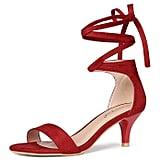 Allegra K Kitten Heels Sandals