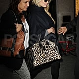 Jessica Simpson went out shopping in NYC.