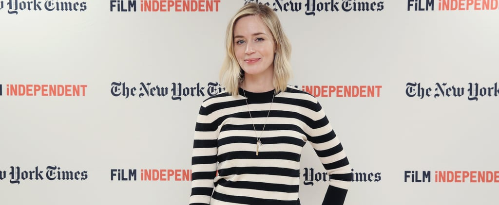 Emily Blunt Interview About Her Daughters