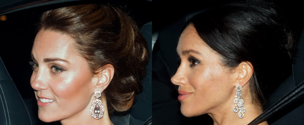 Meghan Markle and Kate Middleton Makeup Prince Charles 70th