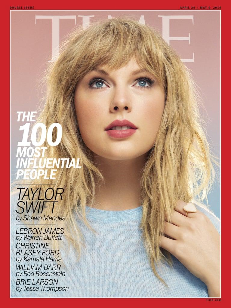 Taylor Swift's Shag Haircut