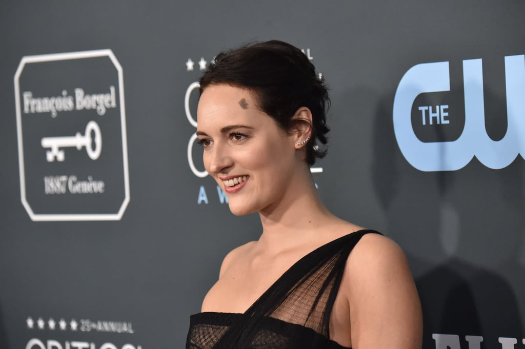 Phoebe Waller-Bridge's Black Dior Critics' Choice Dress