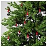 Vinterfest Santa Claus Hanging Decorations